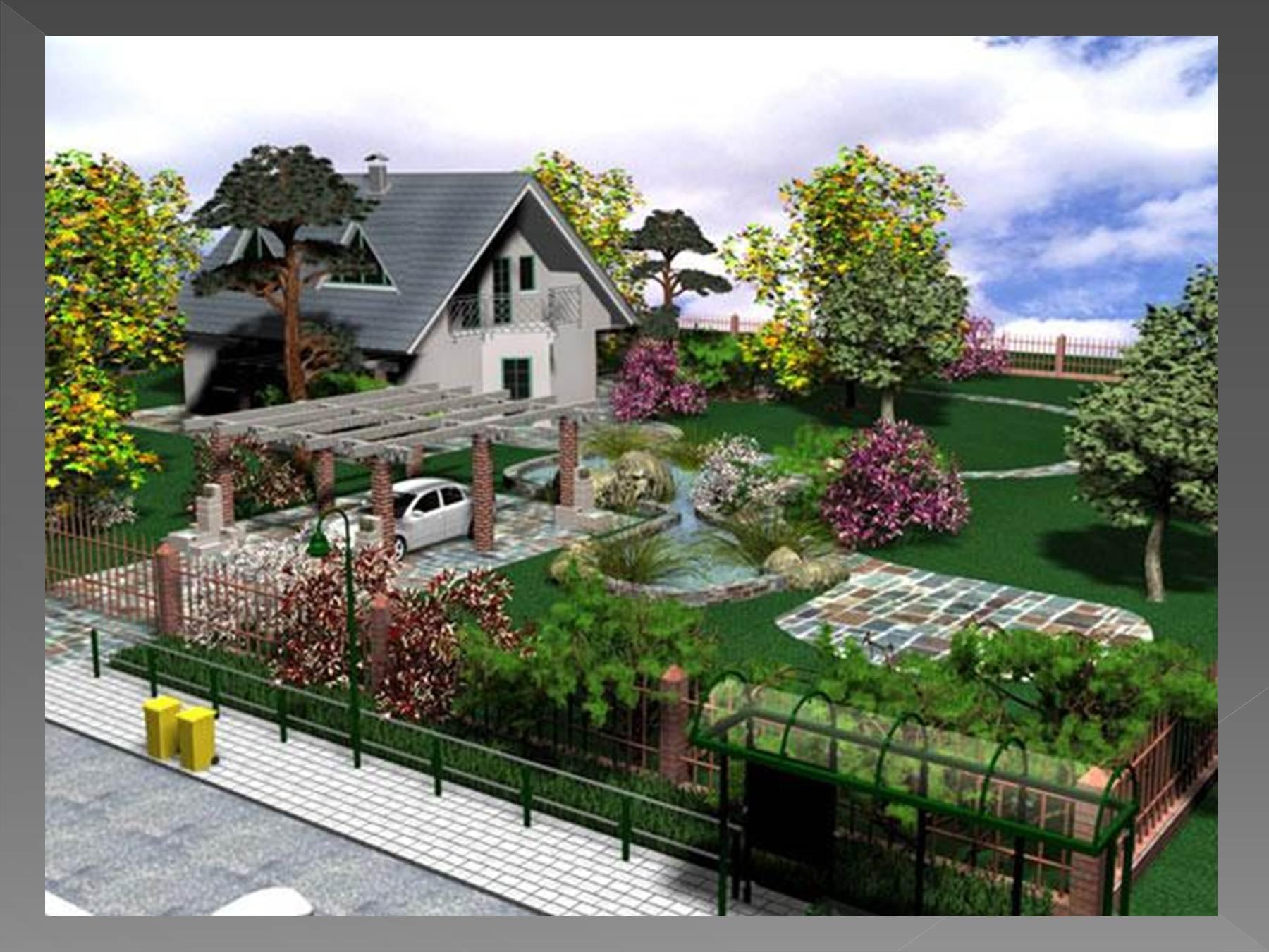 Ландшафтный дизайн дачного участка своими руками фото на 7 сотках