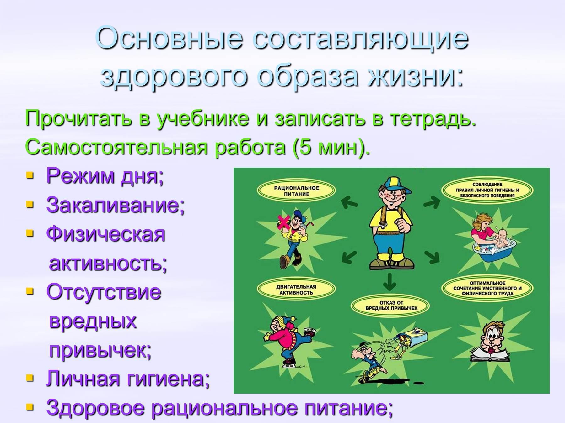 Здоровье и здоровый образ жизни человека реферат 8051