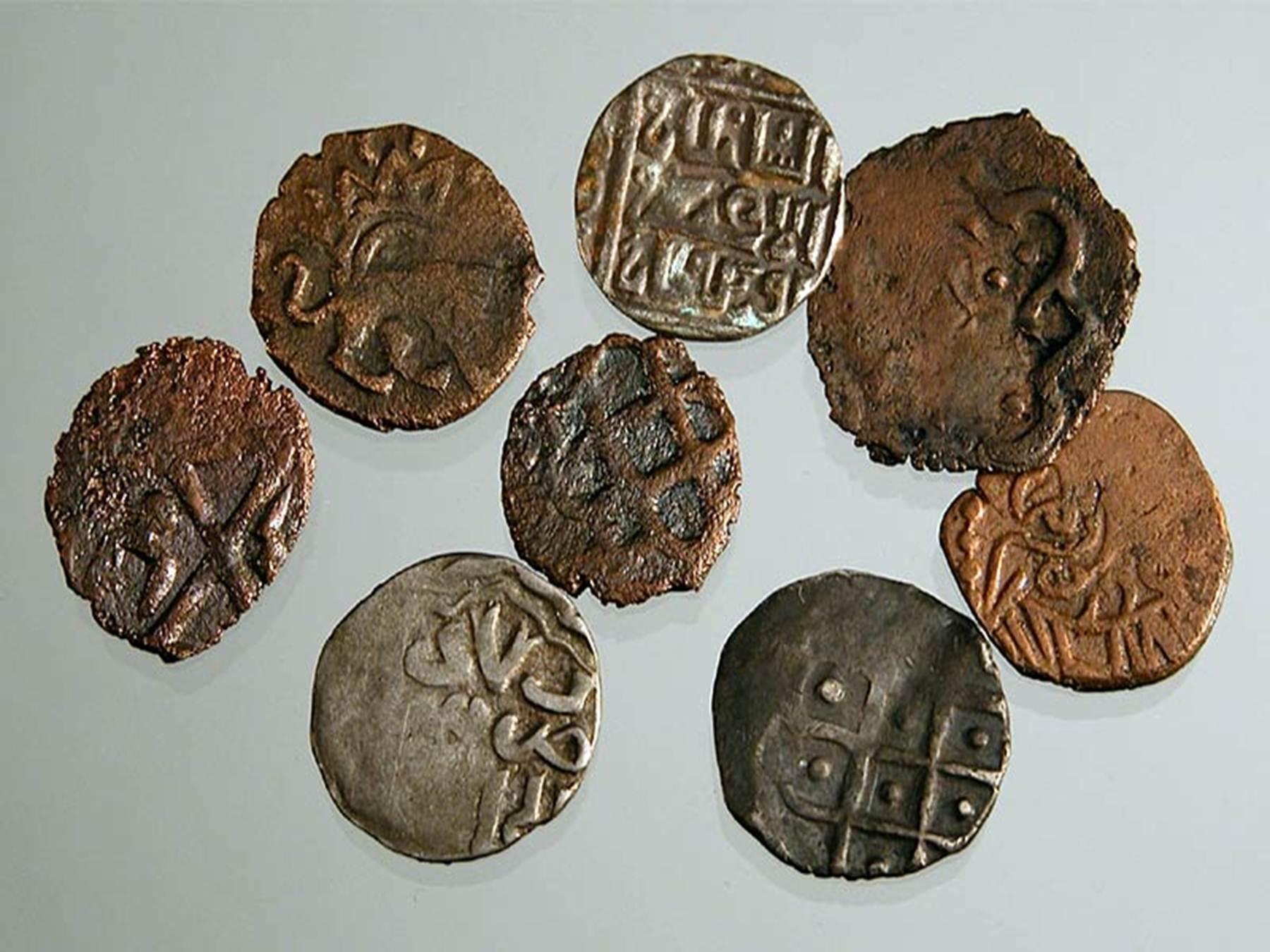 Монеты золотой орды - достопримечательности крыма.