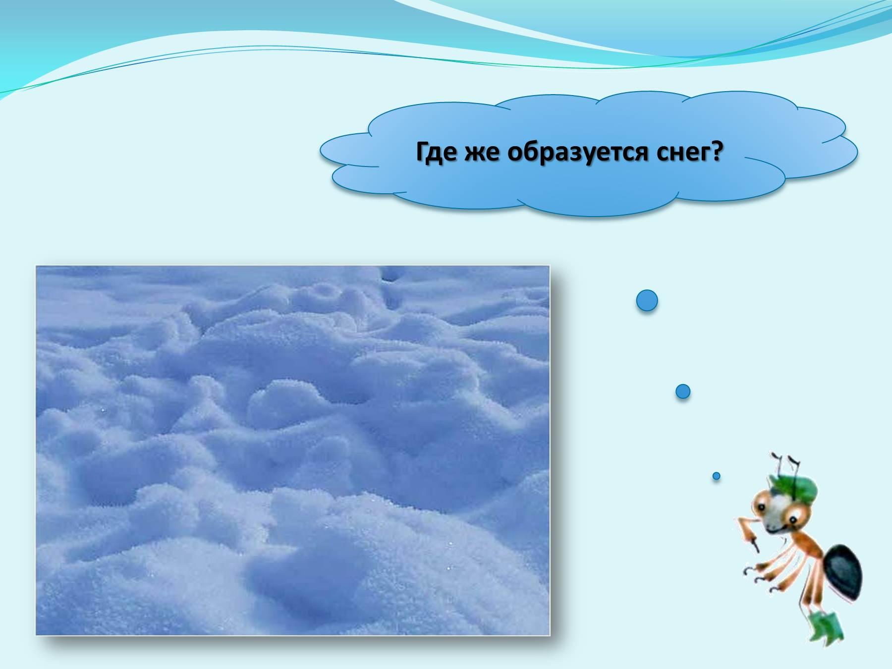 Исследовательская работа почему снег белый