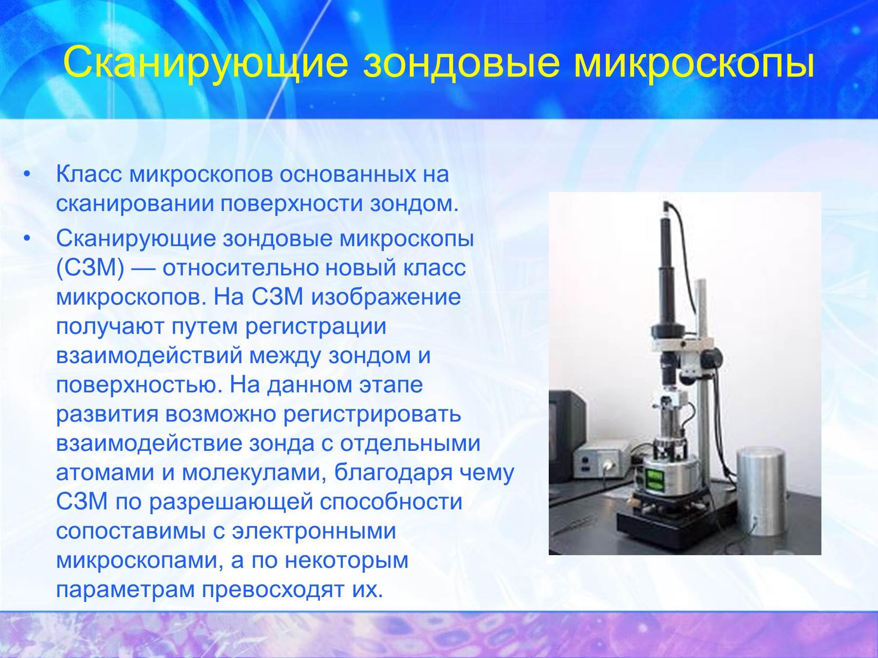 Атомно силовая микроскопия схема