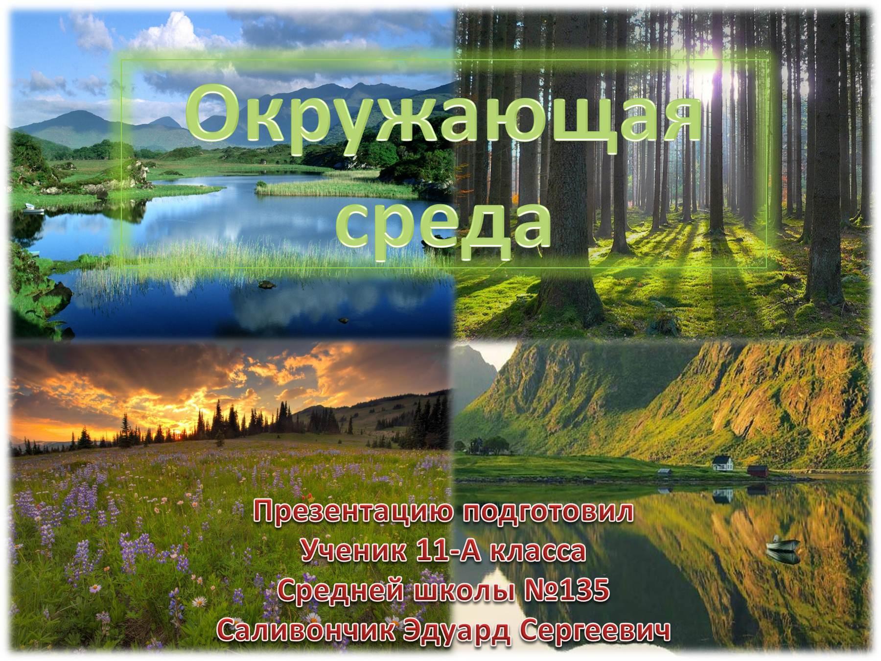 Цитаты по защите природы