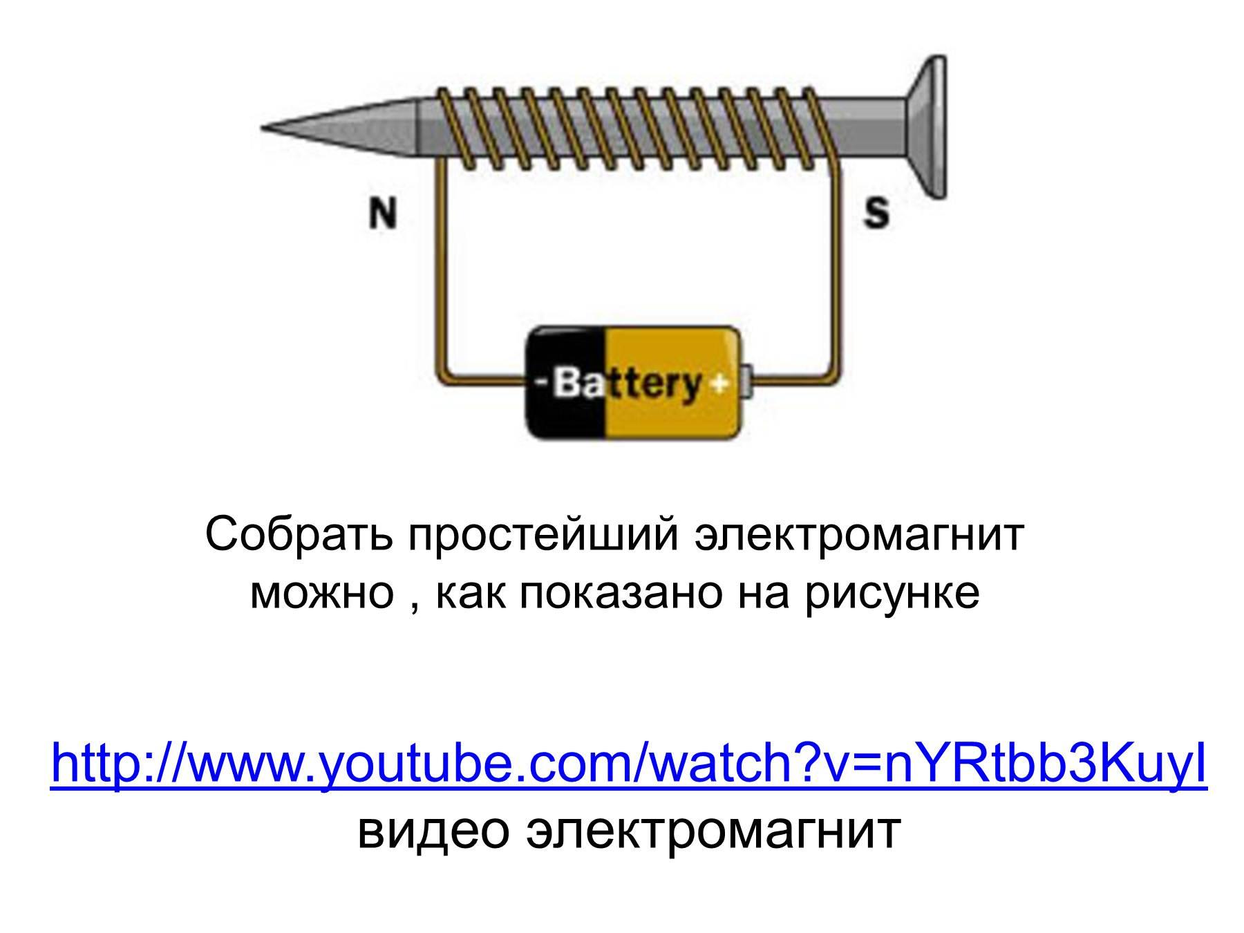 Как создать электромагнитное поле своими руками