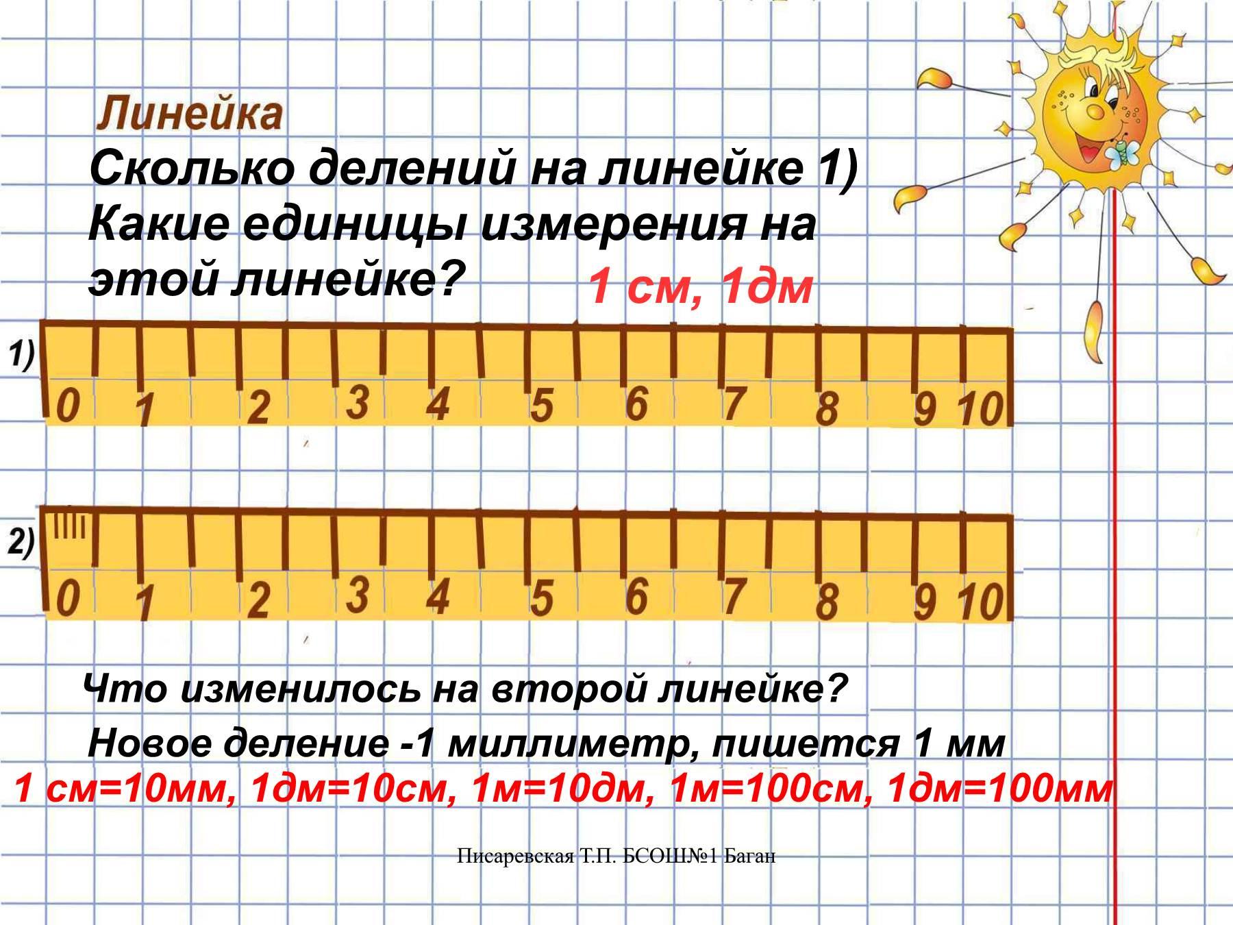 10 мм сколько см