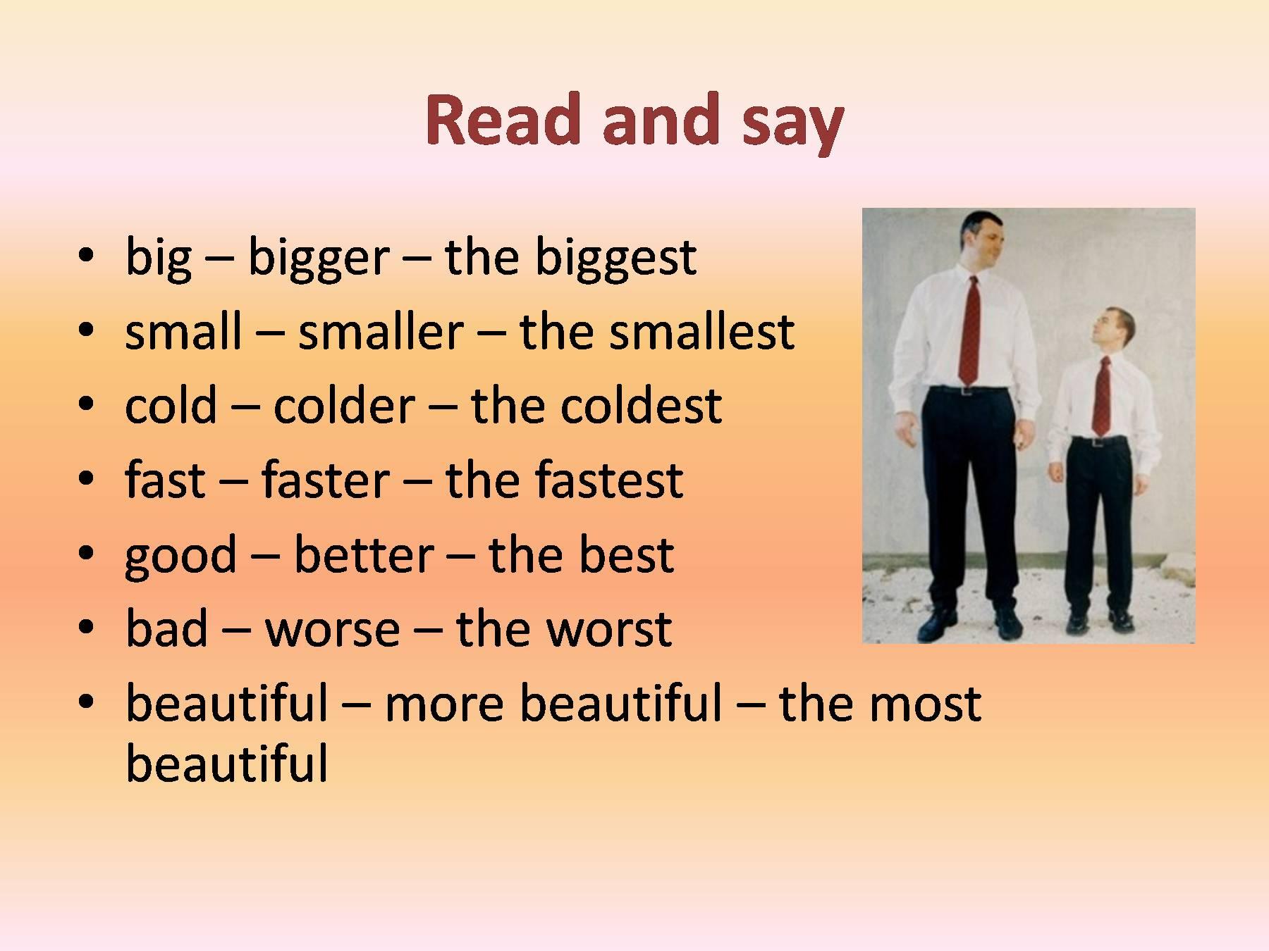 описание человека на английском с картинки примеры